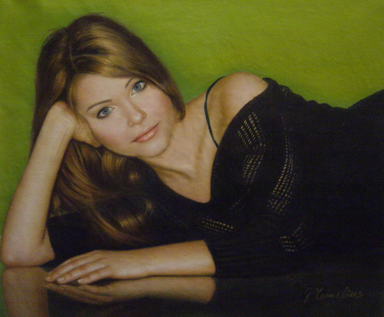 Hand-Painted Oil Painting 01