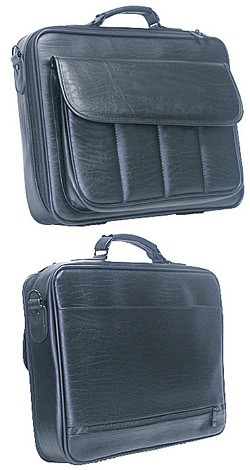 Black 600D laptop bag