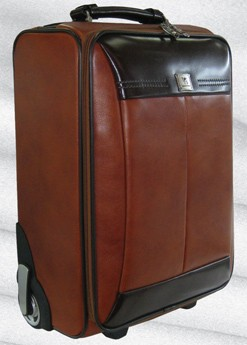 Brown Leather Luggage Bag | Luggage And Suitcases