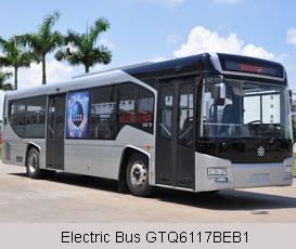 Electric Bus GTQ6117BEB1