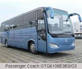 Passenger Coach GTQ6108E3B3/G3
