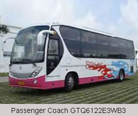 Passenger Coach GTQ6122E3WB3