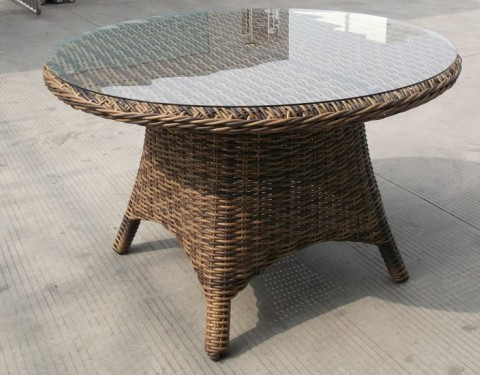 Beau Rattan Round Dining Table Room Ideas