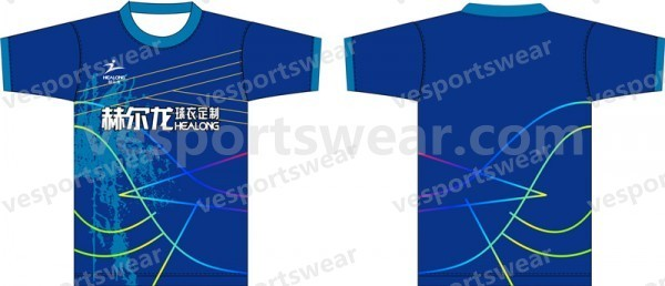 Blue short sleeves t shirt