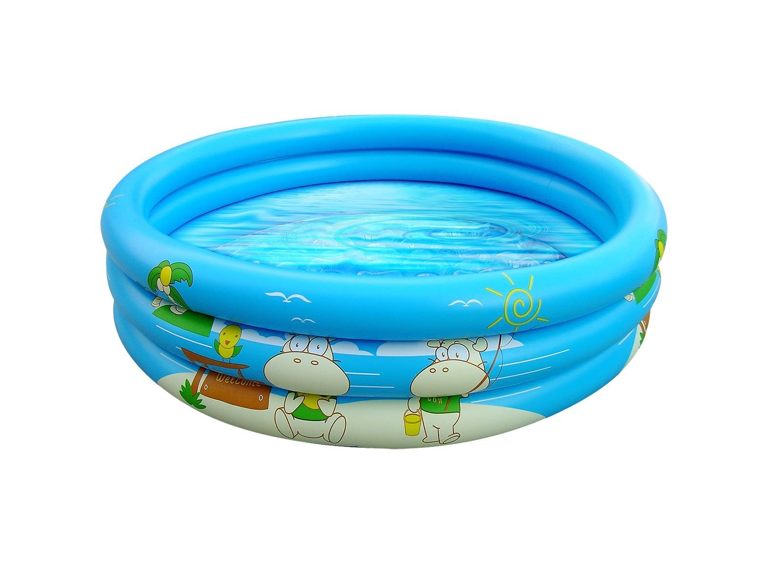 Cartoon baby swim pool