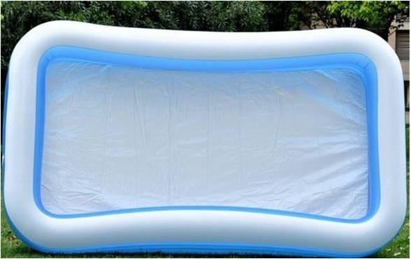 Inflatable baby swim pool