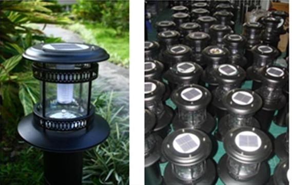 Solar Lawn Lamp 01