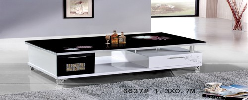 Modern Design Wooden Coffee Table 6637 manufacturersModern Design