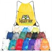 eco personalized drawstring bags