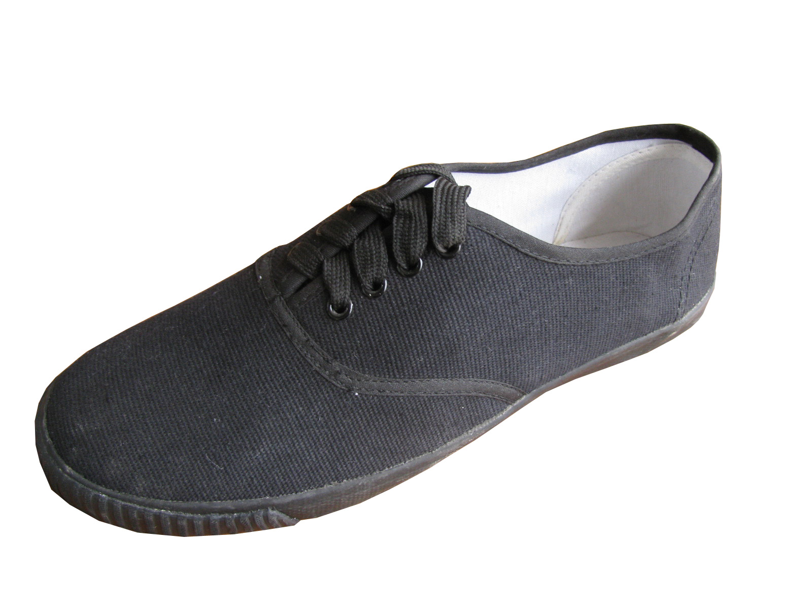 Eco Women's Canvas Shoes - All Black