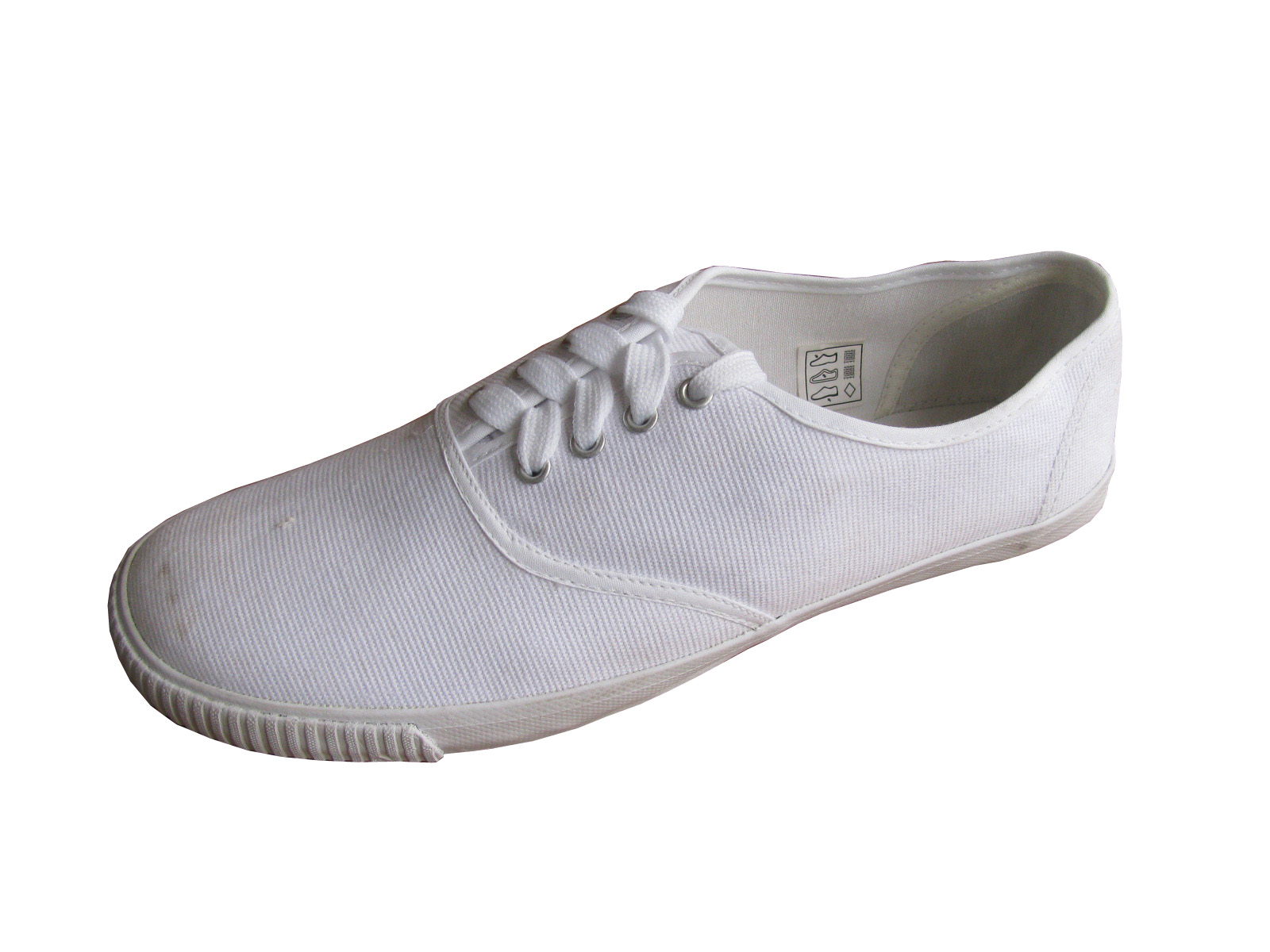 Product Name: white canvas shoes