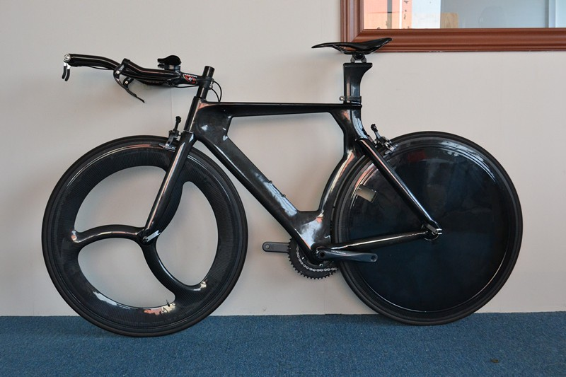 ECTC-EFT01 carbon time trial bicycle frame