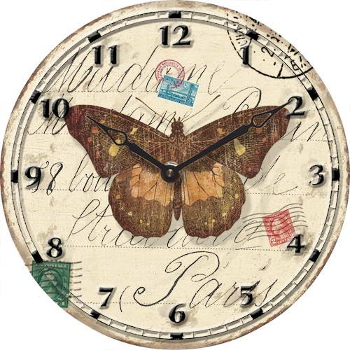 Butterfly Wall Clocks