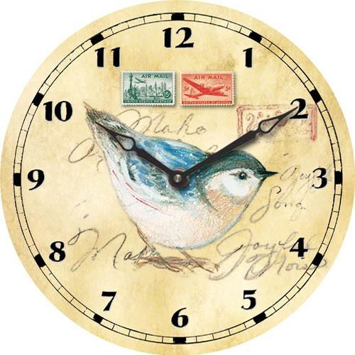 Kids Clock with bird printing