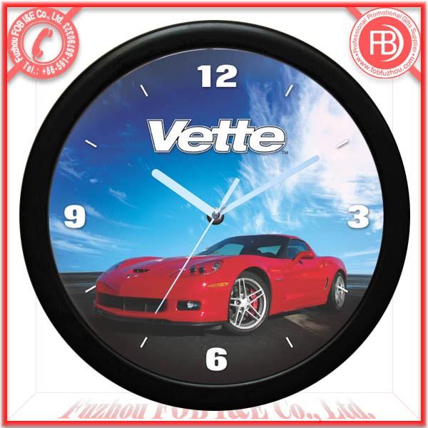 Slim Car Wall Clock