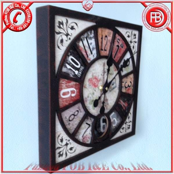 Antique Wooden Clock/Wood Clock
