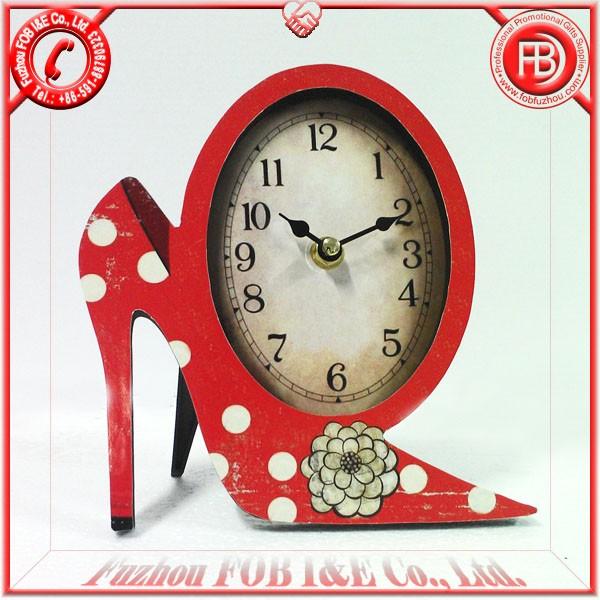 Antique Wooden Clock/Wood Clock WA120501