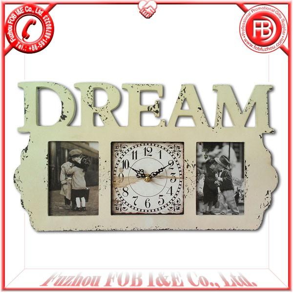 Antique Wooden Clock/Wood Clock WA1205011