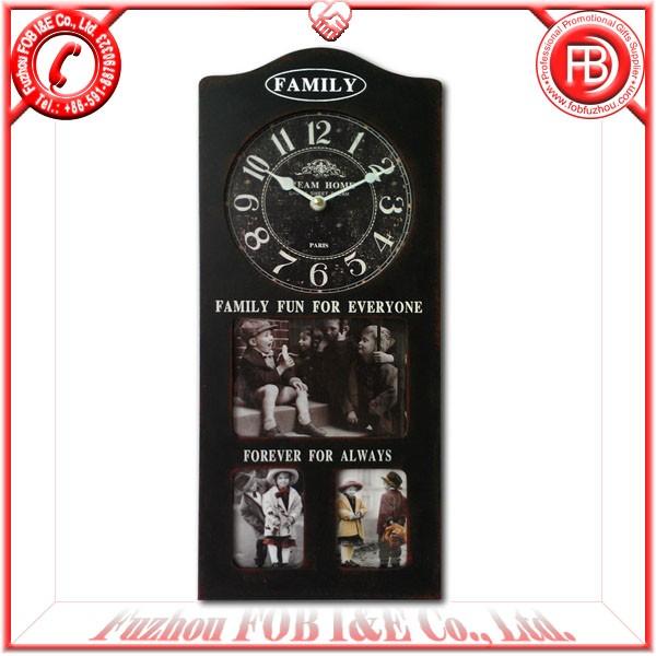 Antique Wooden Clock/Wood Clock WA1205019