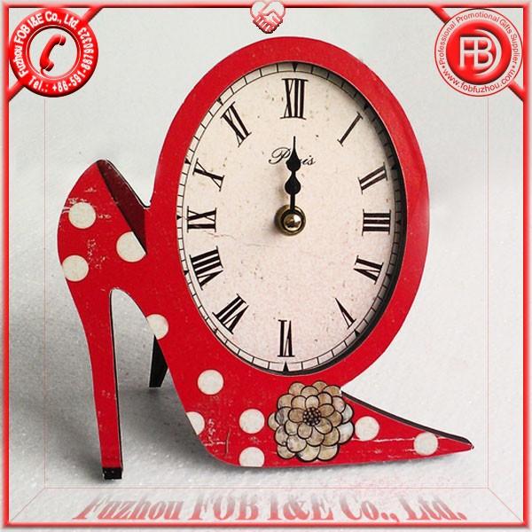 Antique Wooden Clock/Wood Clock WA120502