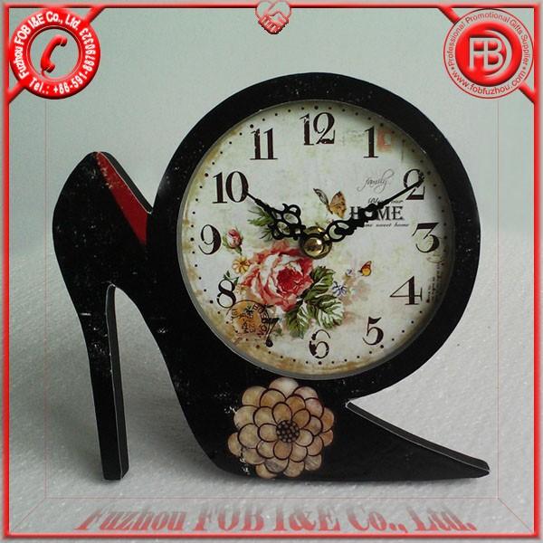 Antique Wooden Clock/Wood Clock WA120503