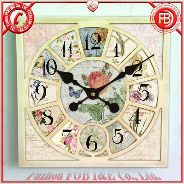 Antique Wooden Clock/Wood Clock WAP1205009