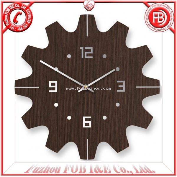 Bamboo art clocks with sun shape