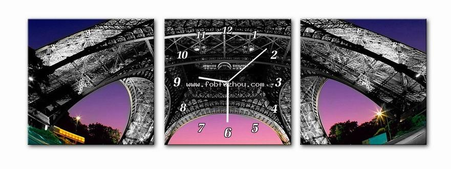Image to canvas with clock 055