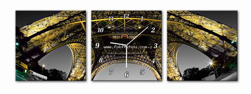 Image to canvas with clock 056