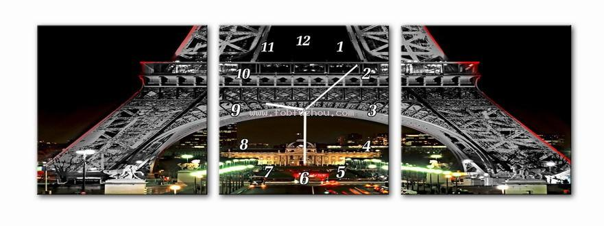 Image to canvas with clock 057