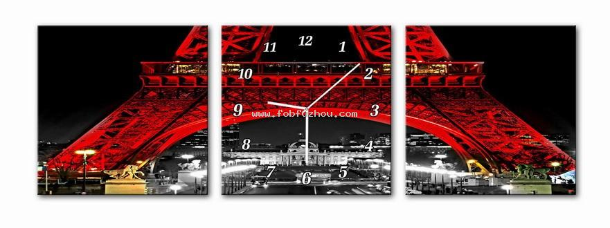 Image to canvas with clock 058