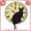Cat Clock with Pendulum