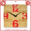 Bamboo art clocks