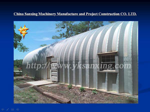 Arch Style Buildings Forming Machine