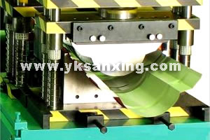 Unlimited Ridge Tile Forming Machine