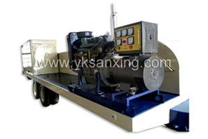 SX-1000-610 No-girder K-span Arch Sheet Roll Forming Machine