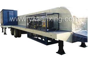 SX-1000-680 No-girder K-span Arch Sheet Roll Forming Machi