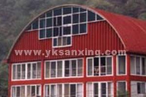 SX-1000-800 No-girder K-span Arch Sheet Roll Forming Machine