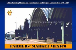 SX-914-650 No-girder K-span Arch Sheet Roll Forming Machine