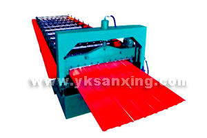 Color Coated Steel Plate Roll Forming Machine