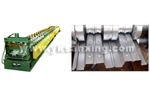 Deck Floor Roll Forming Machine