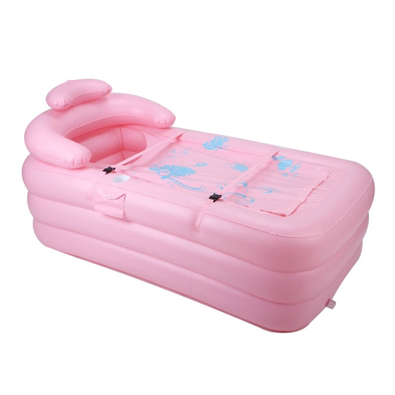 Inflatble Adult Bathtub (Pink)