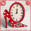 Shoes Table Clock