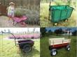 Bike Trailers, dumping cart