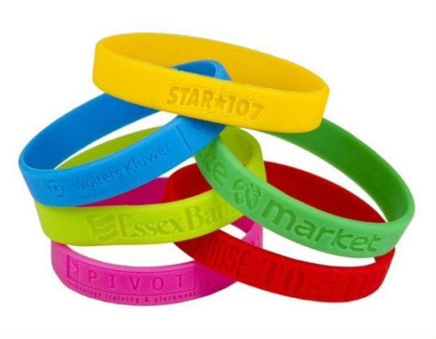 miami wide pack rubber um wristband hurricanes silicone products bracelet