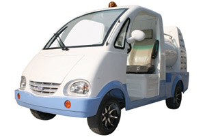 Electric Cleaning Truck