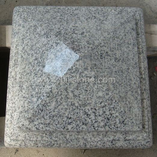 G603 Silver Grey Granite Polished Coping Stone