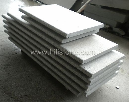 G654 Blue Black Flamed Coping Stone