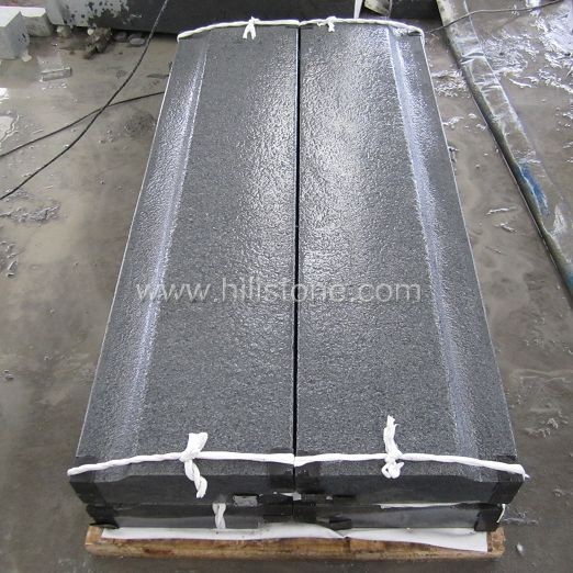 G654 Blue Black Flamed Stone Cover Elements