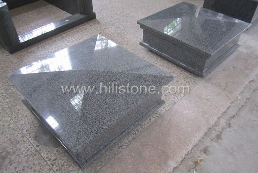 G654 Impala Type Granite Polished Coping Stone